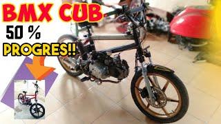 Modifikasi Sepeda Motor BMX 125cc - Masih 50% Boss!!