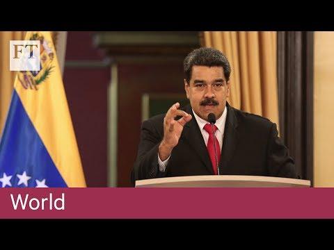 Nicolás Maduro blames Colombia for failed drone attack