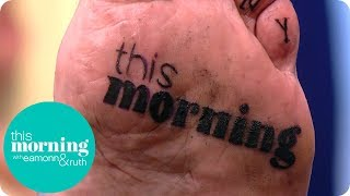'tattoo Addict' Gets Some Special Additions On The Soles Of His Feet | This Morning