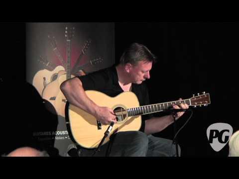 Montreal Guitar Show '10 - John Slobod Guitars played by Tony McManus