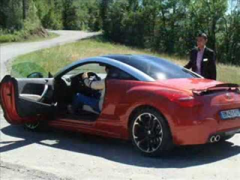 peugeot rcz thp 200 mit r ffer esd vsd 5db funnydog tv. Black Bedroom Furniture Sets. Home Design Ideas