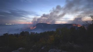 Drought Feeds Wildfires in Southeast U.S.