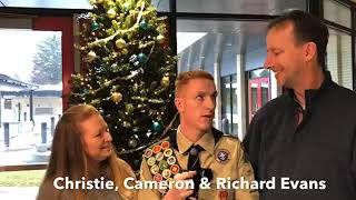 Happy Holidays! Look back at the Boy Scout White Cane Fundraiser!