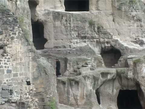 Georgia Caucasus: Vardzia Cave Monastery and Mtkvari Canyon