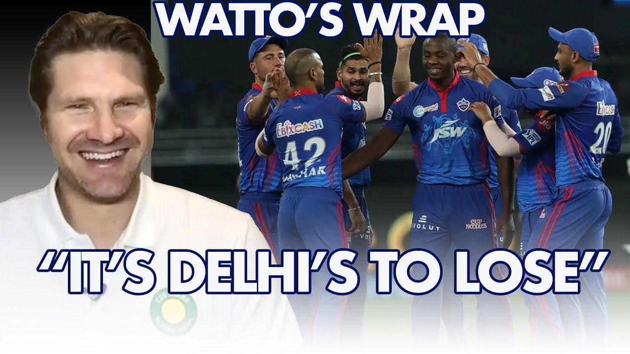 Shane Watson Says It's Delhi's To Lose   Watto's Wrap