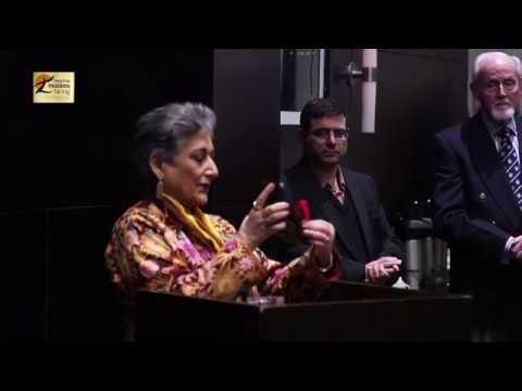 Raheel Raza honoured with Senate 150 Medal