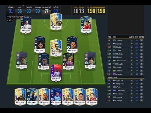 REVIEW FO4 - NGHIỆN FIFA GIẢI MÃ CHỌN CẦU THỦ TEAM CHELSEA - LEO RANK DỄ DÀNG