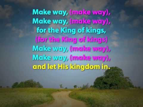 Make Way (with Lyrics)