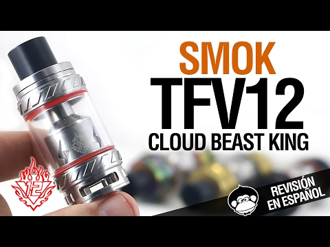 Smok TFV12 Cloud Beast King + tutorial RTA (dual y triple coil) + TV12 VS TFV8 / revisión