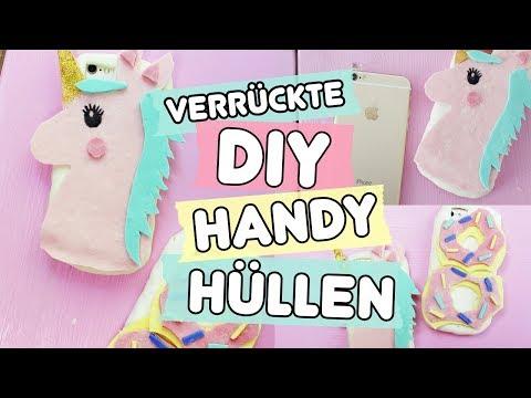 Verrückte DIY Handy Hüllen selber machen ◆ Einhorn