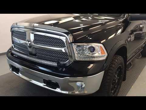 Black 2013 Ram 1500 Laramie Longhorn Review lethbridge ab - Davis GMC Buick Lethbridge Appraisal Gri