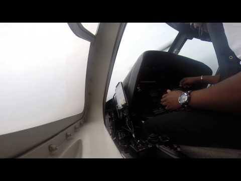 Meu voo em offshore em Luanda