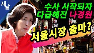 [짤] 수사 시작되자 다급해진 나경원, 서울시장 출마?