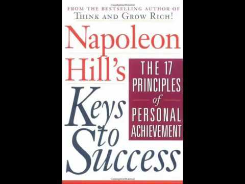 Napoleon Hill   17 Principles of Success {FULL AUDIOBOOK}
