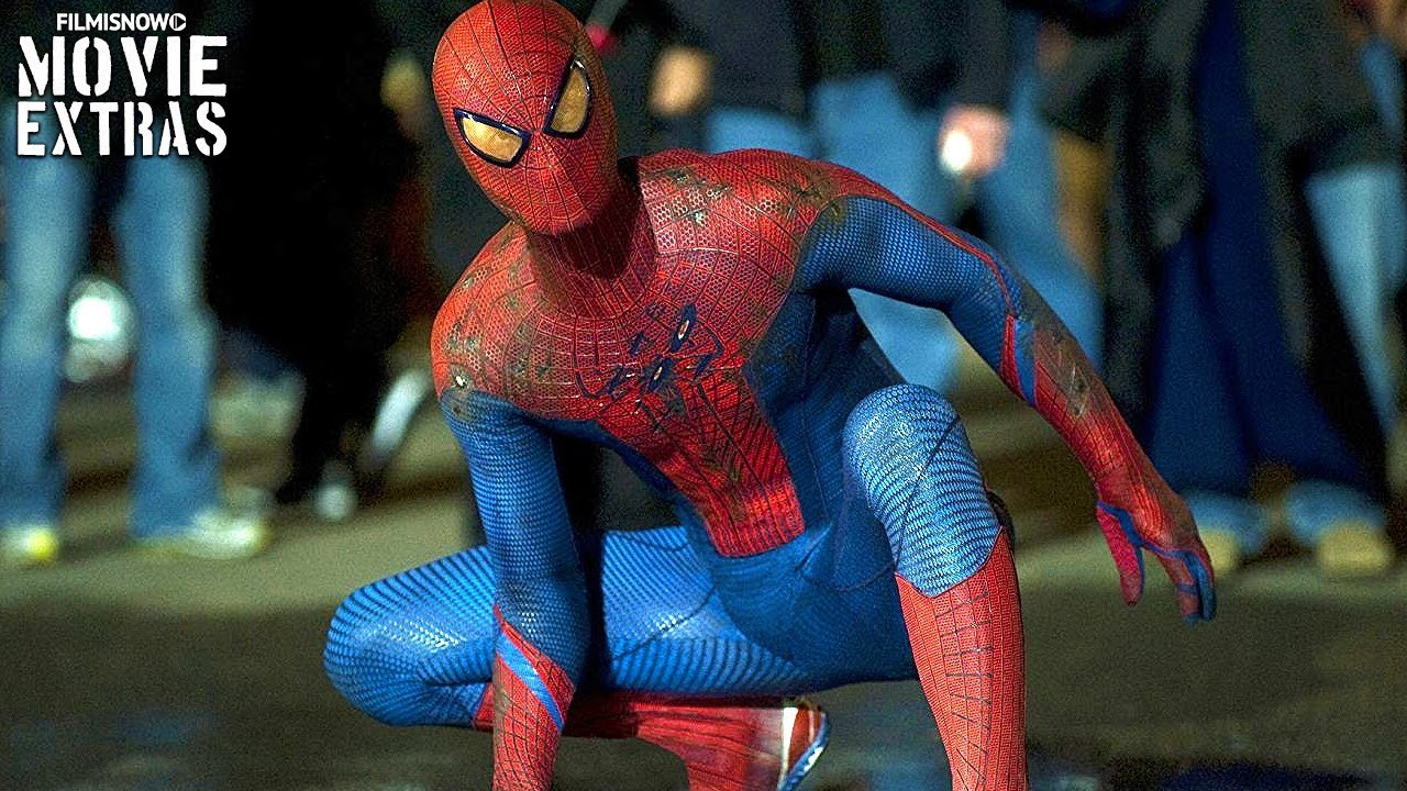 Go Behind The Scenes Of The Amazing Spider Man 2012 Youtube