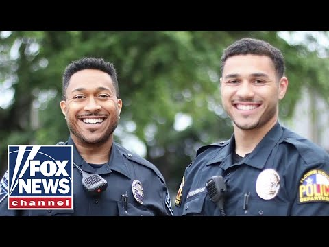 Father, son graduate police academy together