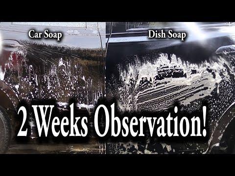 Car Soap VS Dish Soap for Car Wash