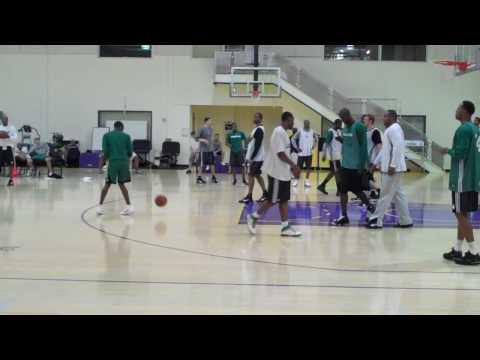 NBA FInals 2010 (Boston Celtics Scrimmage) - Baske...