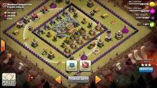 Clash of Clans - Ataque Gowipe a Aldea 8