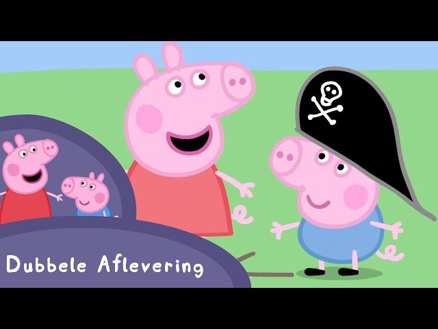 Peppa Pig Nederlands Compilatie Nieuwe Afleveringen | De nieuwe auto | Tekenfilm | Peppa de Big
