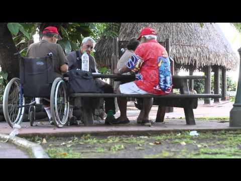 Polynésie française Tahiti Papeete centre ville / French Polynesia Tahiti Pape'ete city center