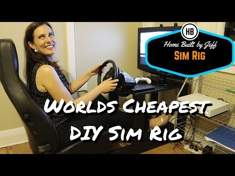 World's Simplest DIY Sim Racing Rig