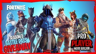 [BATTLE PASS GIVEAWAY @1K] || Level 100 Grind || Fortnite Battle Royale