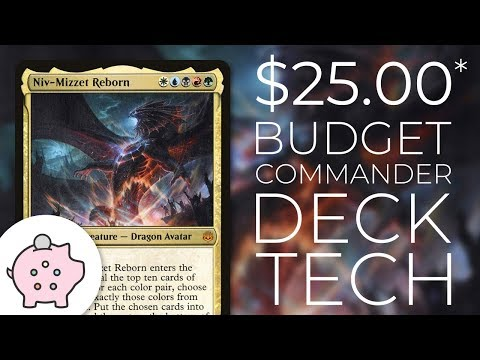 Niv-Mizzet Reborn | EDH Budget Deck Tech $25 | Guilds | Magic the Gathering | Commander