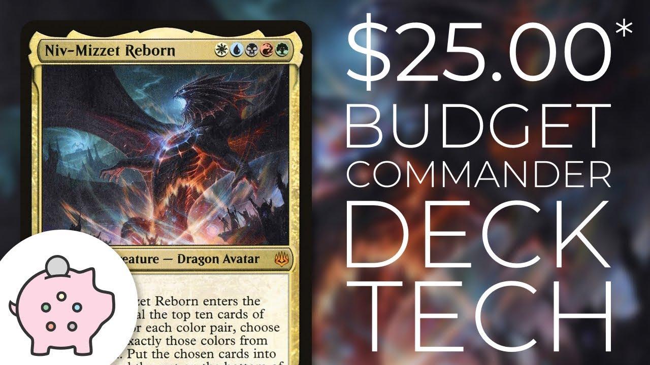 Niv-Mizzet Reborn | EDH Budget Deck Tech $25 | Guilds | Magic the Gathering  | Commander