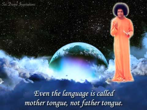 Swami Is Our Loving Mother