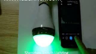 New Bluetooth Speaker with RGB LED Flashing Light.flv