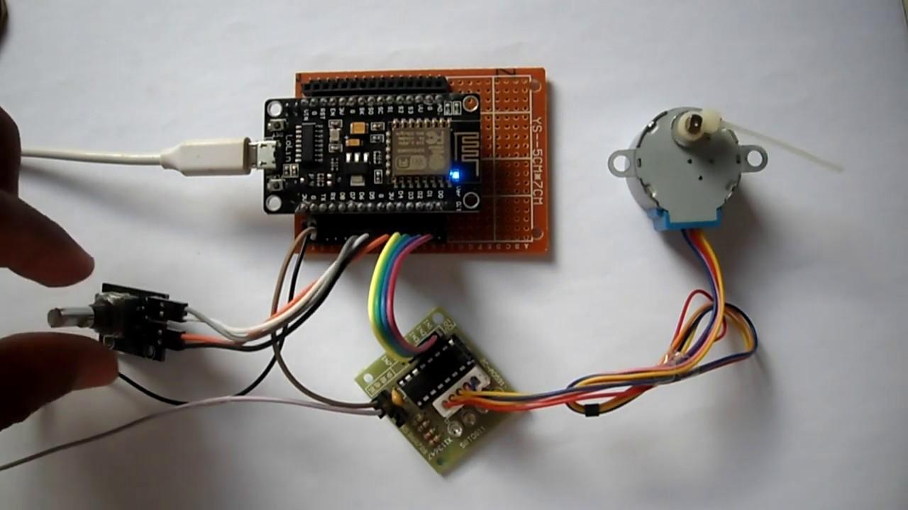 ESP8266 NodeMCU Stepper Motor Control