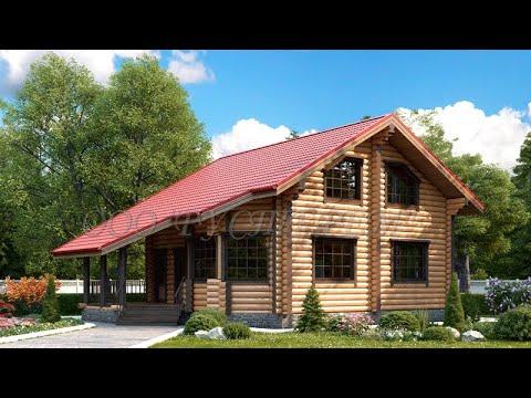 Дом из бревна 7818