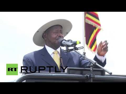 Uganda: President Museveni mocks homosexuals