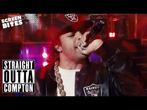 """Yo Dre, I Got Something To Say"" | Straight Outta Compton | SceneScreen"