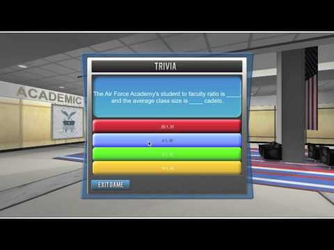 Trivia Game Built In Our Web Based Virtual World