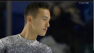 Patrick Chan 2018 Canadian Tire National Skating Championships - SP & interview
