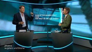 """Augstein und Blome vom 14.09.2018:  """"WANN IST DAS MAAßEN VOLL? - ODER: WER TRÄGT DIE SPD ZUM JAGEN"""""""