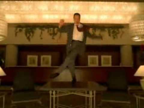 Christopher Walken dancing to Marvin Gaye