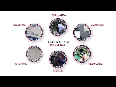 American Industrial, Inc. 6 Step Electronic Repair Process