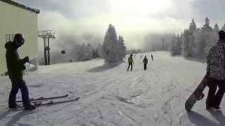 志賀高原 焼額山スキー場 ジャイアントスラロームコース