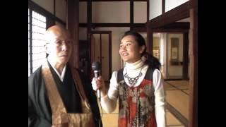 (たおやかインターネット放送)その日の出来事織田信長ゆかりの寺院崇福寺Oda Nobunaga's temple Sofukuji