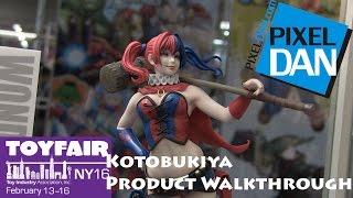 Kotobukiya Product Walkthrough at Toy Fair 2016 - Marvel, Star Wars, DC, More!