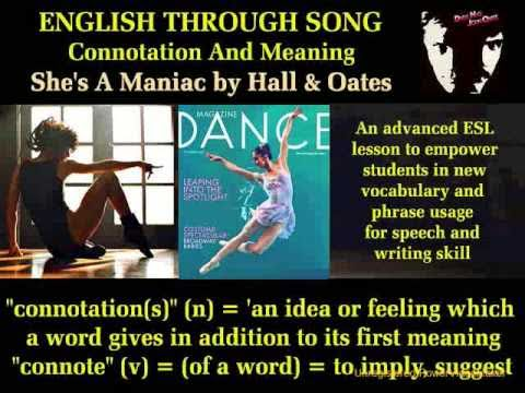 English Listening | ESL Lesson | Spoken English Meanings | English Connotations | English Song Video