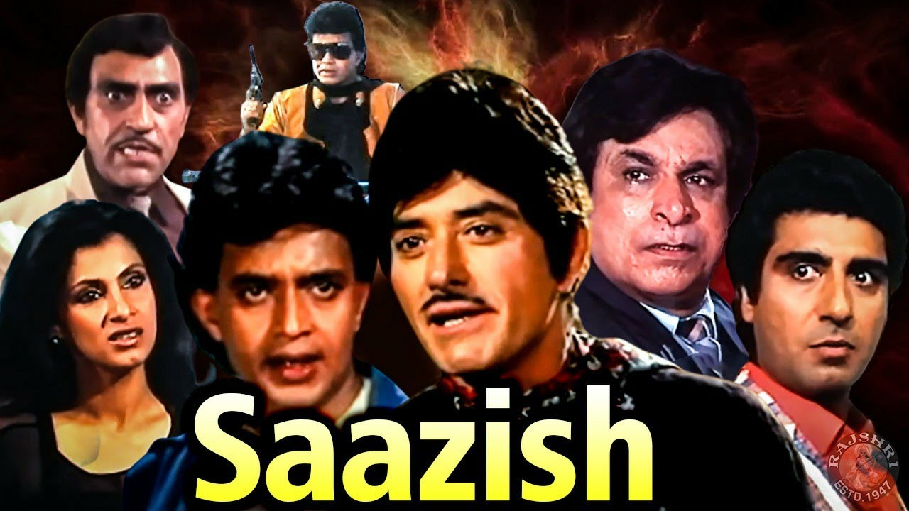 Saazish Action Hindi Movie | साज़िश | Mithun Chakraborthy, Raaj Kumar, Dimple Kapadia, Raj Babbar
