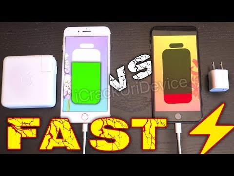 iPhone 8 Plus Fast Charging VS Normal: Faster or SCAM?! (Quick)