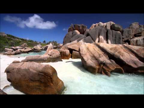 Seychelles / La Digue - Dream Beach Anse Cocos - Wave Sound (1080p)