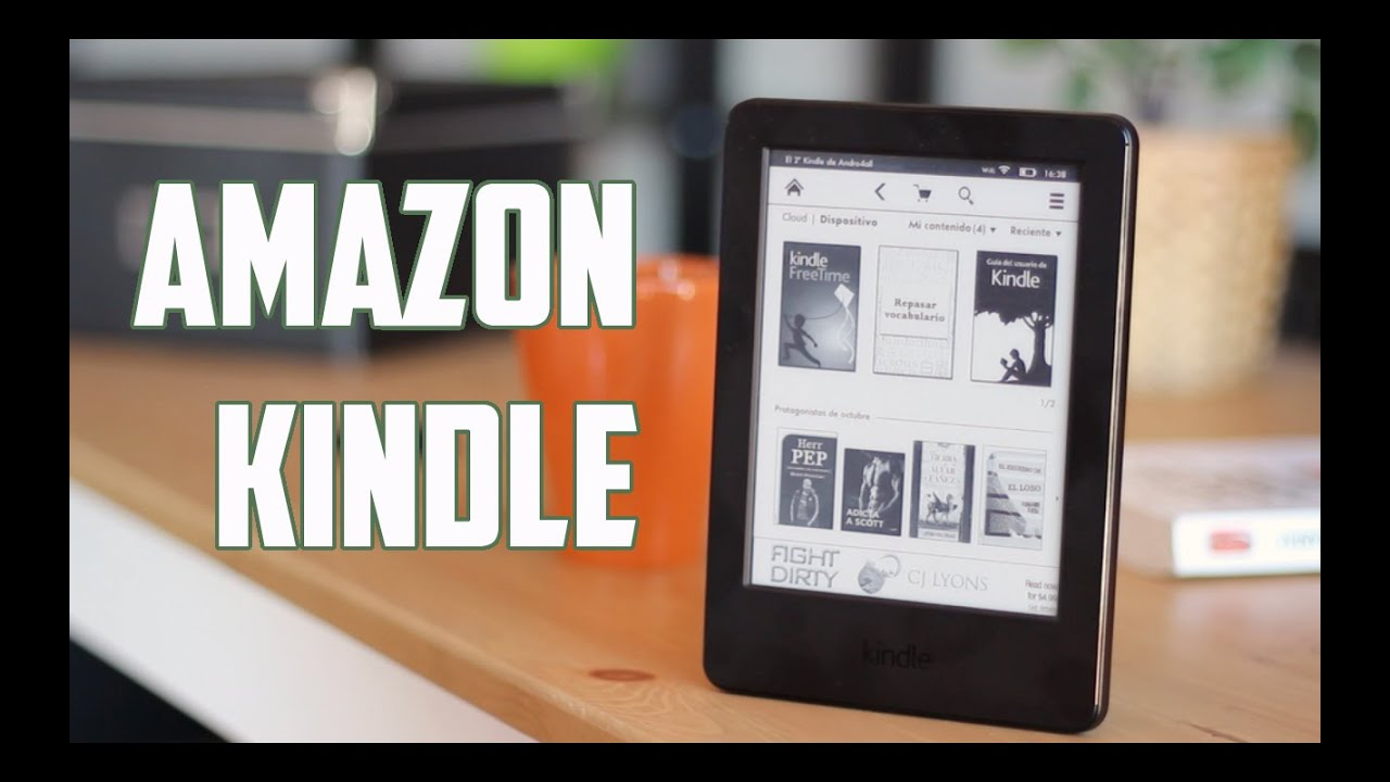 6dbd5f3d0 Amazon Kindle, Review en Español - YouTube
