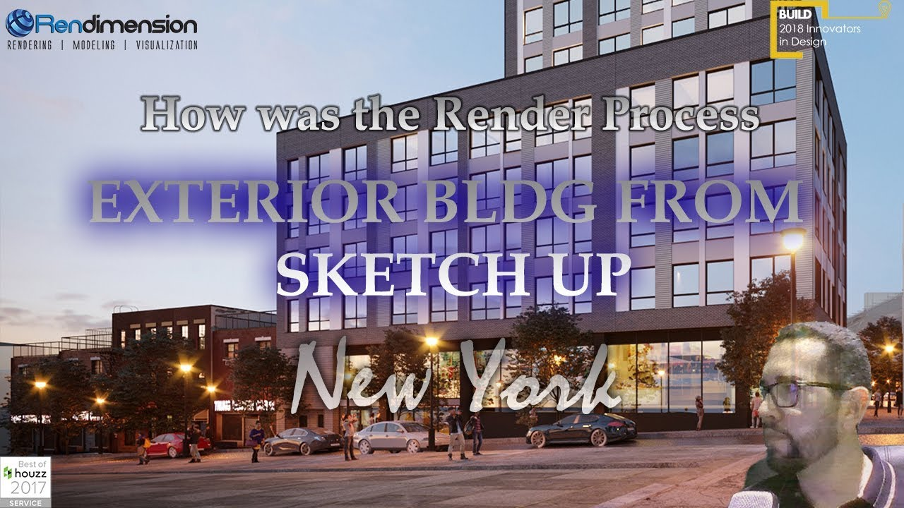✅3D Rendering Services New York - Exterior Building - Architectural Renderings Real Estate New York✅