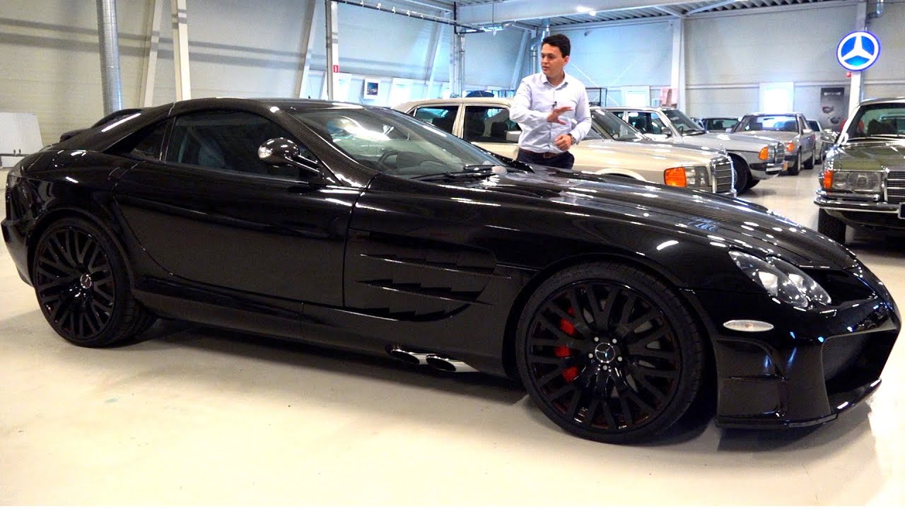 MANSORY McLaren SLR Mercedes Limited 1 of 1 – Full Review Drive Acceleration Sound